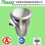 Double papier d'aluminium latéral avec le tissu tissé par PE