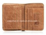 Мужские качества кожаный кошелек держателя кредитной карты
