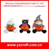 Decoração do Dia das Bruxas (ZY11S345-1-2-3) Halloween Witch Pumpkin Ghost Black Cat Decoration