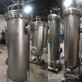 Мешок фильтра в корпусе из нержавеющей стали для электростанции, сталь,