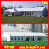 La pared transparente de 10m de ancho parte boda carpa para evento al aire libre
