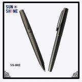Crayon lecteur de luxe à extrémité élevé en métal de stylo à bille en métal