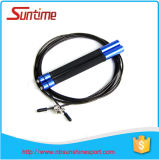 Sale chaud Speed Cable Jump Rope avec Aluminium Handle, Jump Rope, Adjustable High Speed Jump Rope, Crossfit Jump Rope