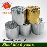 Papier en papier à papier thermique pour papier d'imprimante ATM POS