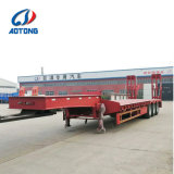 2/3대의 반 차축 30t-80t 낮은 편평한 침대 화물 트럭 트레일러 (LAT9405TDP)