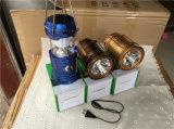 2016 새로운 고품질 최고 밝은 태양 야영 손전등