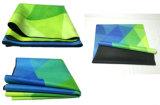 De niet-toxische Natuurlijke Mat van de Yoga van de Zonsondergang van de Mat van de Yoga van de Boom Rubber