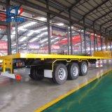 4 châssis de conteneur de l'essieu semi-remorque pour TEMA