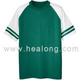 Healong ha personalizzato le magliette 100% del cotone MOQ 10PCS