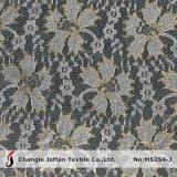 Los encajes de oro metálico indio barata tela para la venta (M5254-J)