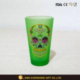 Cerveza personalizada de la copa de cristal de Vaso de vidrio esmerilado