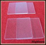 明確なポーランドの正方形によってカスタマイズされる無水ケイ酸の水晶ガラス板の製造者