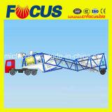25m3/H - Concrete het Groeperen van de Aanhangwagen 75m3/H Installatie met de Chassis van de Vrachtwagen