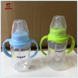 Frasco de leite recém-nascido do bebê dos PP da garganta padrão Eco-Friendly do produto comestível