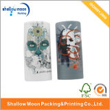 Boîte cadeau en papier en forme de cylindre en carton (QYZ068)