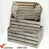 Barato al por mayor de madera rústica Lamentando Cajas de Apple