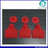 etiqueta de oído animal de 51X43m m TPU con la impresión modificada para requisitos particulares de la insignia