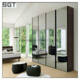 Подгонянное зеркало серебра ванной комнаты декоративного зеркала Polished