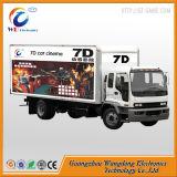 6 cinematografo mobile di movimento di Dof del camion elettrico idraulico della piattaforma 5D