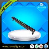 Светодиодные настенные панели омывателя 18pcsx3w RGB лампа для установки вне помещений