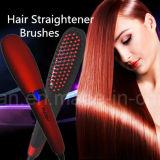 Balai électrique de vente chaud de redresseur de cheveu de Digitals de balai de cheveu de redresseur de peigne de redresseur de cheveu de Nasv