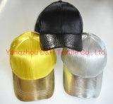 Открытый черного цвета бейсбольные колпачок и спорта (DH-LH7714)