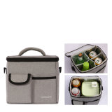 肩の氷のクーラー袋の余暇の女性の子供のピクニック昼食の袋ボックスはパックの飲み物の食糧上昇温暖気流袋を絶縁した