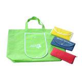 Promoción de la reciclada no tejido de la impresión de bolsas de compras (YH-NWB103)