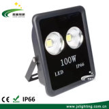 IP65は正方形LEDによって投げられる屋外Lighting100W 150W 200Wの高い発電のフラッドライトを防水する