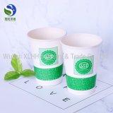 7oz compostável papel PLA chávena de café de comércio por grosso