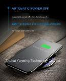 Teléfono celular móvil Qi Wireless cargador USB rápido super delgada