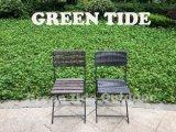 Het openlucht HDPE van de Tuin Plastic Ontwerp van de Rotan van Bistro van de Lijst en van de Stoel van het Meubilair Slag Gevormde Vastgestelde 3PCS Houten