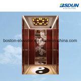 1m/s del espejo de titanio aguafuerte elevador de pasajeros