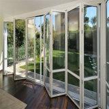 Portello Bi-Piegante di alluminio di qualità superiore standard australiano con doppio vetro lustrato