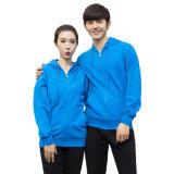 Custom plaine unisexe Fleece Zip uniforme jusqu'Hoodies pull-over Couples