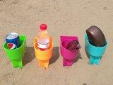Красочные Бич Spiker пластиковый держатель для чашки в Jiewei
