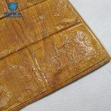 Глянцевая Gold обои из кирпича для DIY украшения