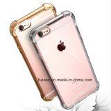 Best Selling Points Shell Téléphone Mobile pour iPhone 7 TPU Transparent Crystal Hard Cover Téléphone Étui pour iPhone 6S 7 8 X