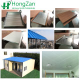 Pannelli a sandwich d'acciaio ondulati per la parete esterna ed il tetto