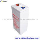 Cspower Opzvの管状のゲル電池2V 500ah