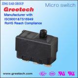 De miniatuur Waterdichte IP67 Elektro Micro- Schakelaar van de Dia voor de Slimme Controle van de Auto