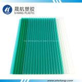 Feuille jumelle de cavité de polycarbonate de mur pour le toit de construction