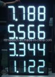 De Verkeersteken van het Benzinestation van het Teken van de Vertoning van het Aantal van het Teken van de Vertoning van de Prijs van het gas