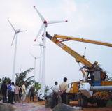 실용적인 Grid Connected Wind Power Generator 20kw System