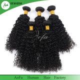 bouclé crépu de Vierge de la pente 8A d'Afro brésilien de cheveu