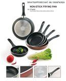 Сковорода покрынная ручкой алюминиевая Non-Stick для Cookware устанавливает Sx-Yt-A015