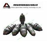 base rotatoire inclinée par carbure d'outils Drilling de foreuse de 22mm empilant les dents coniques de découpage de baril de faisceau de position de sélection