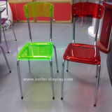 Изготовленный на заказ цветастый пластичный стул (BTR-3014)