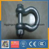 De hete Chinese Goedkope Prijs Goede Qualitygalvanized van de Verkoop ons de Hete Gesmede Sluiting van de Boog van de Veiligheid met Noot G2130