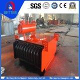 Separador magnético eléctrico/mineral refrigerado por aire para los materiales de construcción/cemento/transportador de la lavadora/de correa del oro